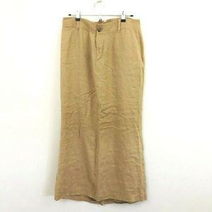 Banana Republic Linen Blend Maxi Skirt 10